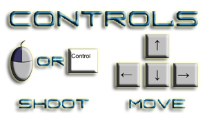 Invaders 2D - Game Controls